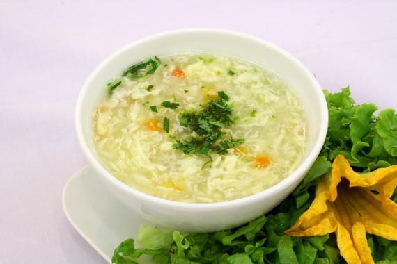cach lam sup mang tay chay