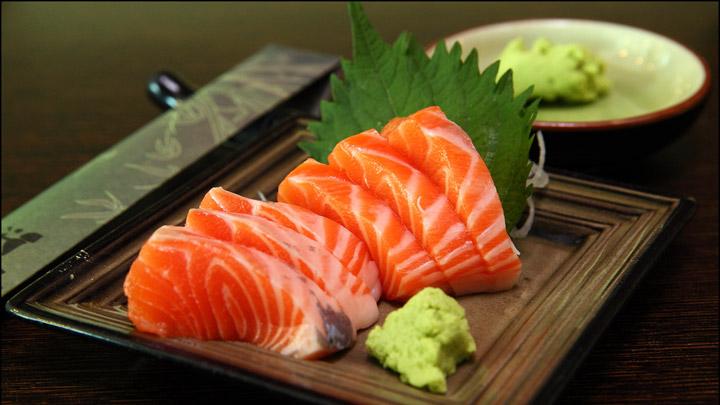 cach lam sashimi ca hoi