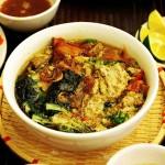 Cách nấu bánh đa cua đậm đà đúng gốc Hà Nội