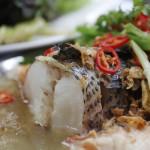 Hấp dẫn với cách làm món cá lóc hấp kim hoa thơm ngon