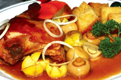 gà nấu kiểu pháp 2