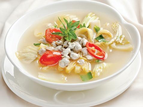 súp hến