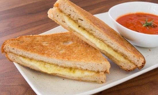 cach lam banh mi sandwich chay 2