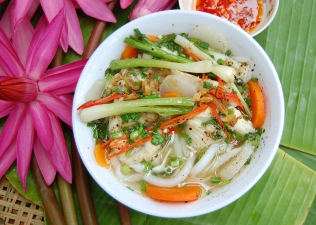 cach lam chao banh canh chay 2