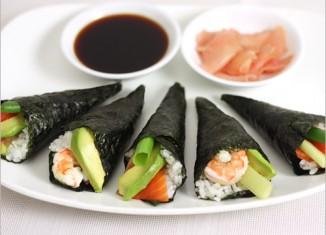 cach lam sushi