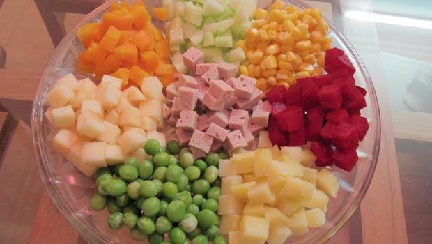 cach lam salad nga 2